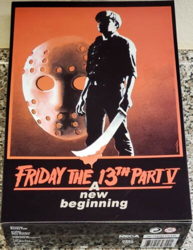 "NEW A NEW BEGINNING NECA FRIDAY THE 13TH PART 5 7/"" ULTIMATE JASON FIGURE"