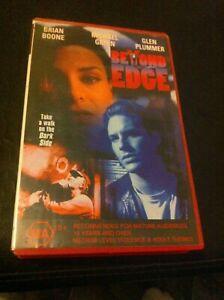 Beyond-the-Edge-VHS-ex-rental-video-tape-Michael-Green-Glen-Plummer-HTF-on-DVD