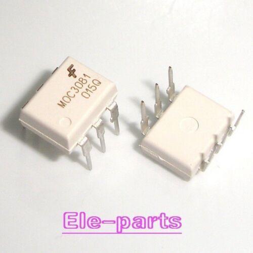 50 PCS MOC3081 DIP-6 6-Pin DIP Zero-Cross Optoisolators