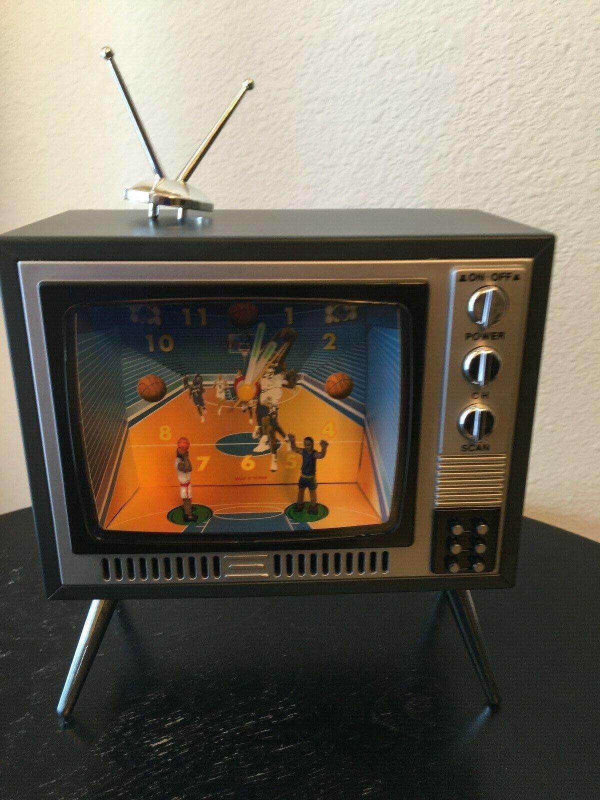 Tv Basketball Sport Style Television Novelty Alarm Clock For Sale Online
