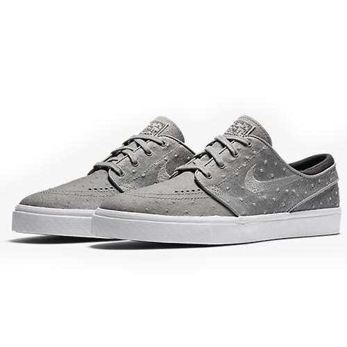 Nike sb janoski di pelle di struzzo - polvere grigia 616490-008