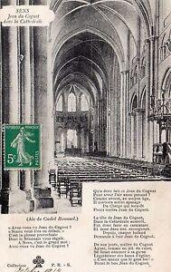 France-Sens-Jean-du-Cognot-dans-la-Cathedrale-Postcard-Franked-1914