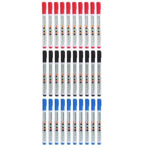 10pcs Quick-Drying Erasable Whiteboard Pen DIY Marker Pen for Kids Drawing