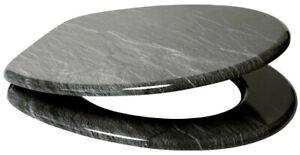 "WC-Sitz Sanilo ""Granit"" MDF ohne Soft Close   93060031"