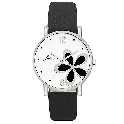 Jainx Flower White Dial Analog Watch For Women & Girls - JW580