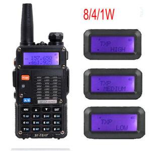 Baofeng-BF-F8HP-Walkie-Talkie-Dual-Band-TRI-POWER-UV-5R-3rd-Two-Way-Radio-8W