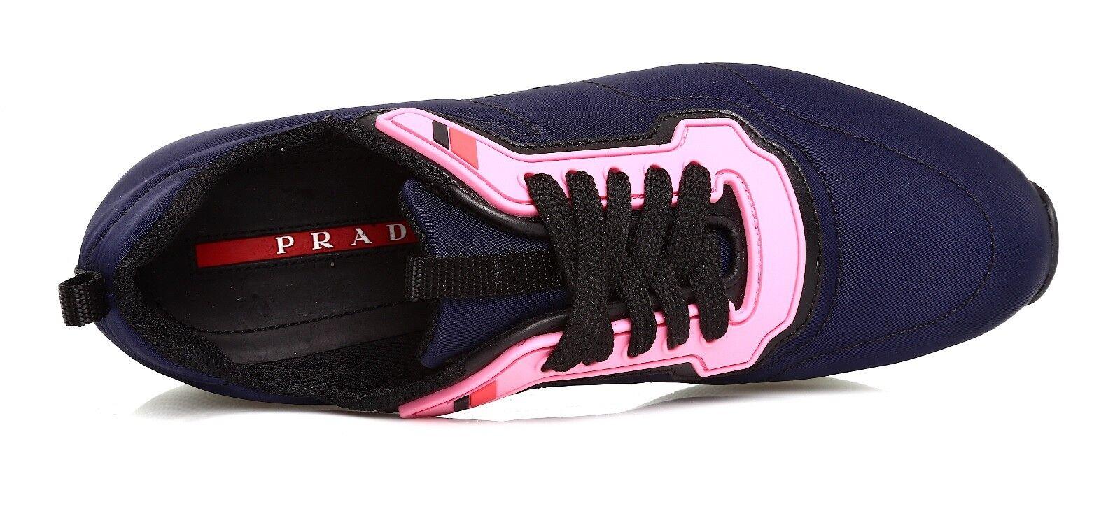 Prada Linea Rossa Rossa Rossa Women's  Running Navy bluee Sneakers Sz 40 EUR 4544 7ee8a7