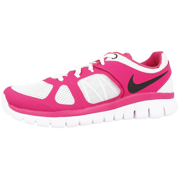 NIKE FLEX 2014 COURSE Chaussures de GS basket sport Platinum Rose 642755-005