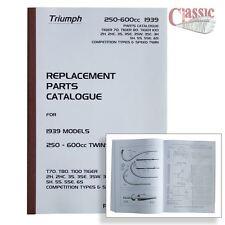 Triumph 1939 6S, Tiger 70, Tiger 80, Tiger 90, Speed Twin Parts Book