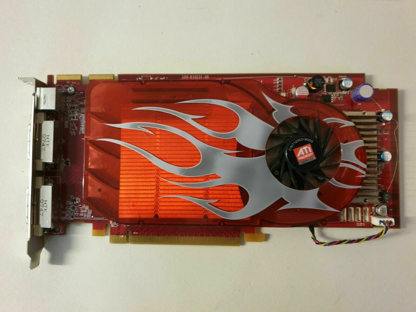 HD Video Graphics Card -ATI-102-B10201 ATI Radeon HD DVI-I PCI-E express card