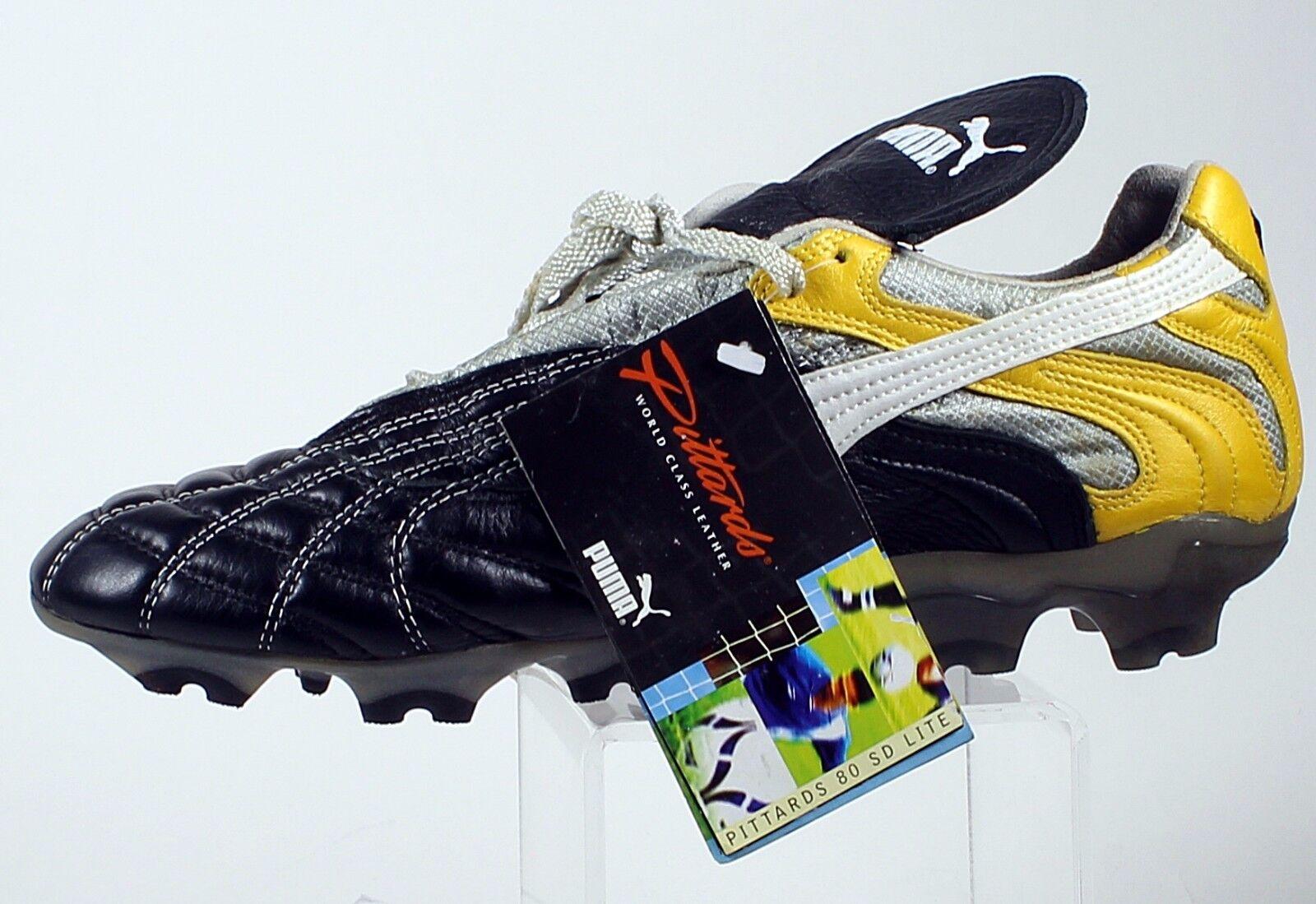 Puma Pittards 80 pequeño diámetro Lite 9 1 2 Zapato De Fútbol Rara Lite temprano década de 2000