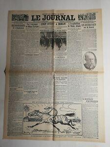 N353-La-Une-Du-Journal-Le-journal-8-decembre-1918-voyage-en-Alsace-Lorraine