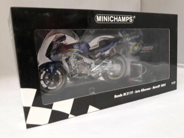 Minichamps Honda RC211V Sete Gibernau MotoGP 2003 1/12 122037115