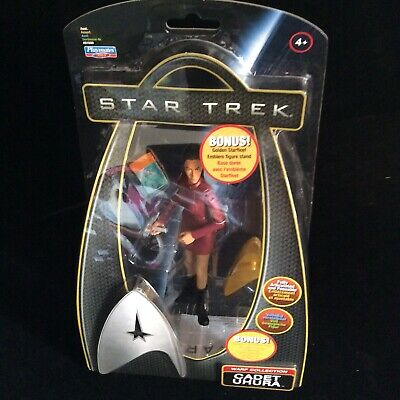 Star Trek 2009 Playmates Galaxy Collection Captain Uhura  Action Figure Carded