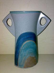 Vase-Kanne-KMK-Kupfermuehle-Dekor-Granit-Modell-44594-Bj-1991-Keramik-TOP