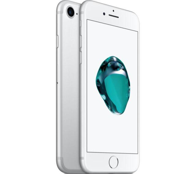 APPLE IPHONE 7 32GB SILVER RICONDIZIONATO GRADO A PARI AL NUOVO + ACCESSORI
