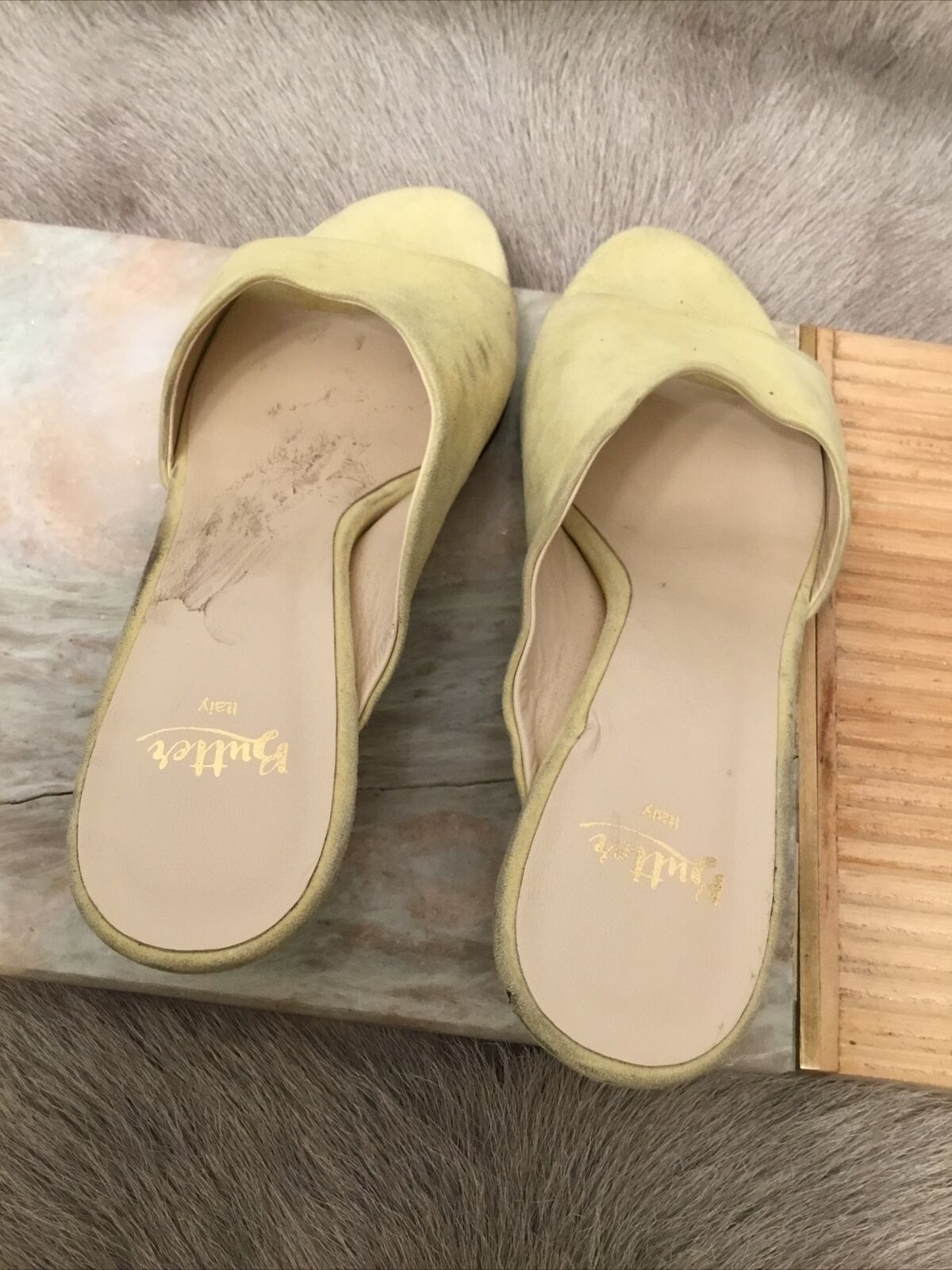 Butter Women's D'Orsay Pump Color Yellow Size 8(5) - image 7