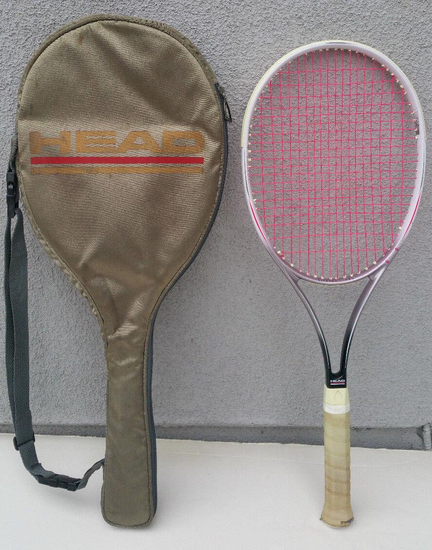 Cabeza Elektra Pro nodal 4 3 8 L3 fibra Twaron Raqueta De Tenis Raqueta Austria caso