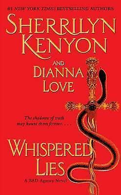 1 of 1 - Whispered Lies by Sherrilyn Kenyon, Dianna Love (Paperback) NEW BOOK