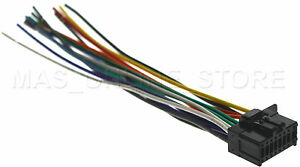 details about wire harness for pioneer deh x3500ui dehx3500ui *pay today ships today* pioneer fh-s501bt wiring diagram pioneer deh x3500ui wiring harness