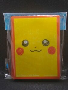 Pokemon-Center-Japan-Pikachu-Gesicht-ver-2-Kartenpaeckchen-Shields-64-Armel