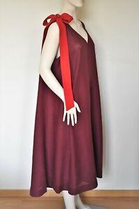 MARINA RINALDI by MAX MARA, 100% Linen Dress Size MR 29, 20W US, 50 DE, 58 IT