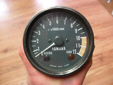 YAMAHA RD125 DX 1E7 1978-1981 REV COUNTER CLOCK TACHO TACHOMETER RD125DX 1979 80