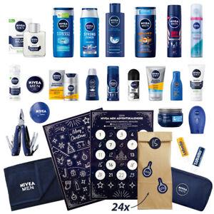 NIVEA MEN DIY Adventskalender 24x Produkte + Papiertüten + Sticker = Wert 85€