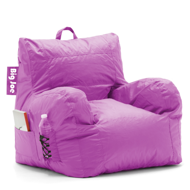 Magnificent Purple Big Joe Bean Bag Chair Avalonit Net Gmtry Best Dining Table And Chair Ideas Images Gmtryco