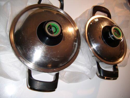 AMC Kochtöpfe, 2 Stück, o,8 Liter und 1 Liter mit Deckel -ansehen- AMC