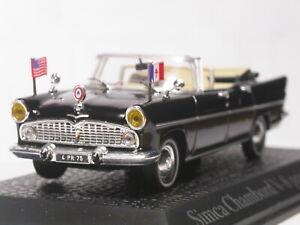 Norev-1-43-Simca-Chambord-Coleccion-Modelo-Diecast-coche-presidencial
