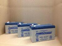 Hewlett Packard Hp 502540-001 Batteries X 3 Powersonic