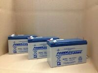 Hewlett Packard Hp 502540-001 Batteries X 3 Powersonic