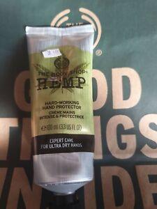 Body Shop 100ml Hardworking Hemp Hand Cream | eBay