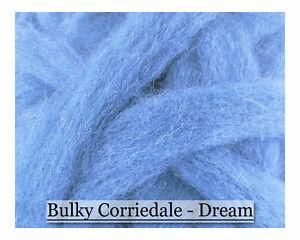 Corriedale Wool Sliver Flesh