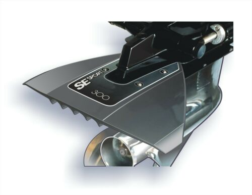 SE SPORT 300 Hydrofoil in GRAU für Aussenborder und Z-Antriebe Stabilisator NEU