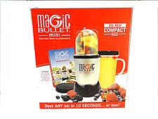 MAGIC BULLET MINI 6 piece set HIGH SPEED BLENDER/MIXER MN-0601