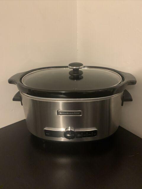Kitchenaid Ksc6223ss 6qt Slow Cooker For Sale Online Ebay