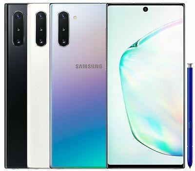 Samsung Galaxy Note 10 N970f N970f Ds N9700 Ds 256gb 8gb Ram Factory Unlocked Ebay