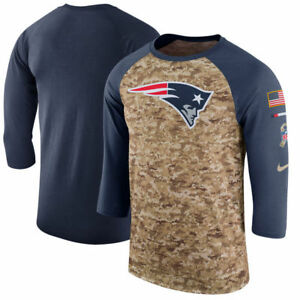 fe5f75be39b NEW ENGLAND PATRIOTS 2017 NIKE DRI FIT SALUTE TO SERVICE MENS SHIRT ...