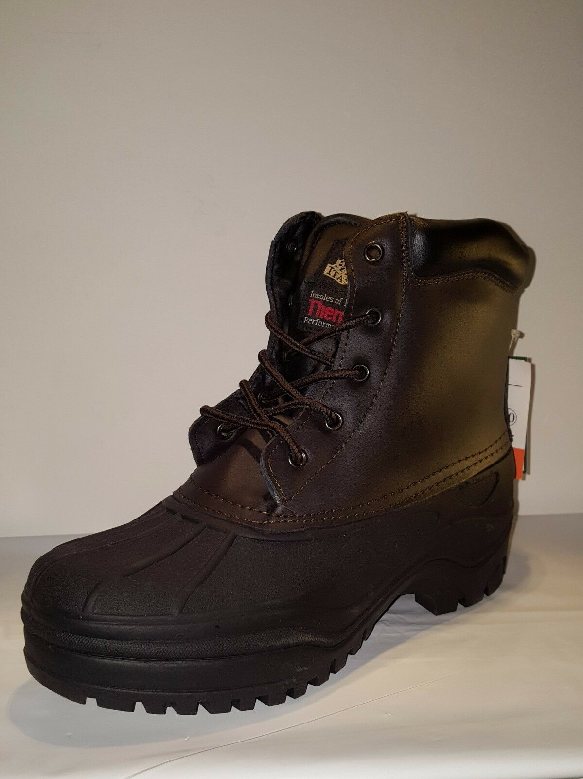 Itasca BLIZZARD Mens Brown 641270 Winter Boots