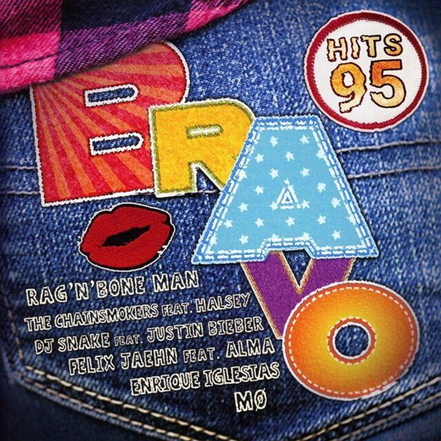 BRAVO HITS VOL.95  2 CD NEUF  SILBERMOND/JAMES ARTHUR/DISTURBED/+