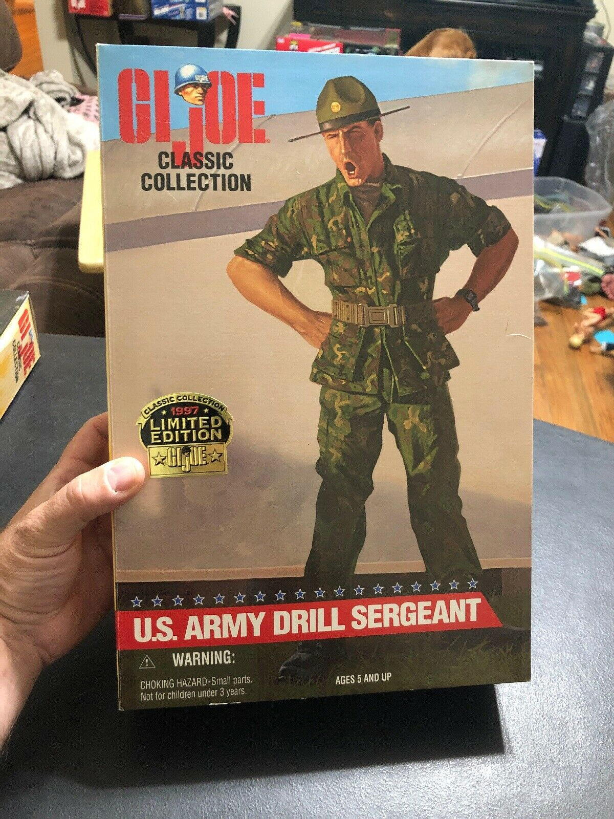 GI JOE US ARMY DRILL SERGEANT classeeic Collection cifra  African American  Felice shopping
