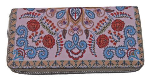 """Damengeldbörse /""""Indio/"""" indische Motive im Paisley-Ornamentik Design TopAusstatt."""
