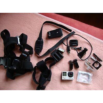 GoPro Hero 4 Silver Action Kamera Actioncam WLAN Equipment