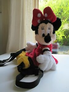 ? Peluche Doudou Sac A Dos Minnie Disneyland Paris Etat Neuf Tres Doux 48 Cm