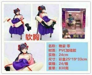 Anime Rei Zero Nude Adesugata Ver. Escala 1/6 Figura Pvc