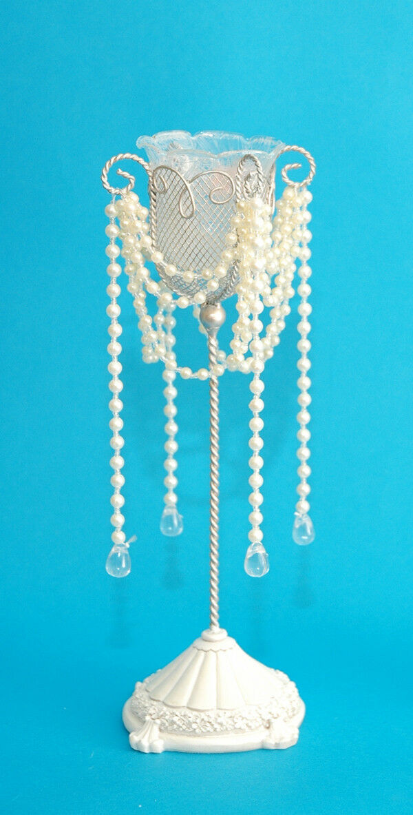 CTD Single Candle Holder with with with Pearls, Set of 24, Wholesale 095f56