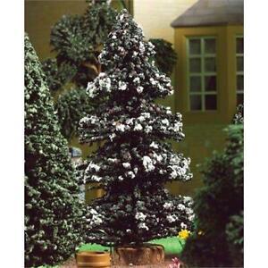12th échelle Snowy Pine Tree Pour Maison De Poupées Arbre De Noël-afficher Le Titre D'origine