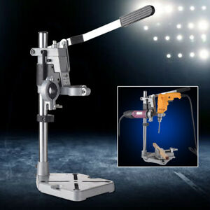 Tool-Drill-Holder-Stand-Drilling-Metal-Base-Bench-Drill-Press-Stand-Aluminum-USA